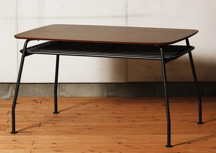 テーブル 机 ヴィンテージ 天然木テーブル Lサイズ 送料無料