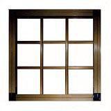 窓用面格子 枠付井桁格子